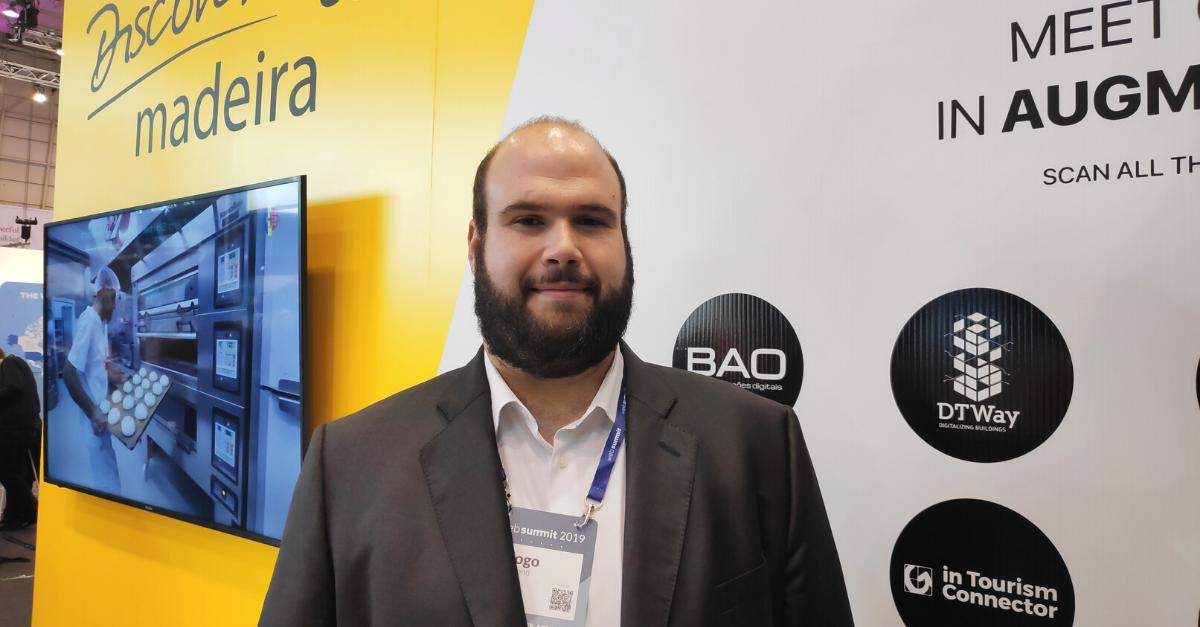 Diogo Drumond Managing Partner da DTWay no Web Summit 2019